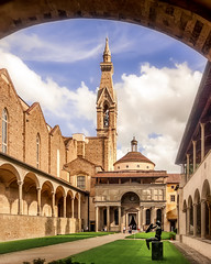 Cappella dei Pazzi (RobMenting) Tags: 70d building church city italia canon canoneos70d eos tuscany travel sky firenze italy architecture italië europe florence toscana it