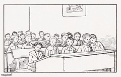 Boys in a class byJulie de Graag (1877-1924). Original from The Rijksmuseum. Digitally enhanced by rawpixel (Free Public Domain Illustrations by rawpixel) Tags: nam antique artwork boys character class drawing group handdrawn illustrated illustration juliedegraag kids learning name old pdrijks publicdomain rijksmuseum school sketch student study vintage woodcut