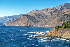 Gamboa Point on Iconic California Highway 1 (randyandy101) Tags: vista vines aerial photography panorama bigcreekbridge gamboapoint californiacentralcoast cambria california cambriaca coast cambriapinesbythesea clouds coastline cliffs carmel cypresstree beach bluesky bigsur bigsurhighway blue bay bluffs sky sea seascape surf sand sunset shoreline shore seaside shimmering seafoam seaweed waves water whiteclouds pacificocean ocean outdoors outdoor offshore rock rocks rocky reflection d850 24120mm