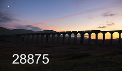 robfrance5d2_28875_151018_x66715_ribblehead_viaduct_6s00_gbf_edr16lr6pse15coefx4weblowres (RF_1) Tags: 2018 66 667 66715 battymoss britain bulk cement class66 construction dales diesel drs dusk electromotive emd england eqt eqtinfrastructure freight gbrailfreight gbrf generalmotors gm haulage hauling hectorrail hectorrailgroup loco locomotive locomotives rail railfreight railroad rails railway railwayviaduct railways ribblehead ribbleheadviaduct rural sc settlecarlisle settletocarlisle silhouette silhouettes sunset sunsets tankers tanks train trains transport uk viaduct yorkshire