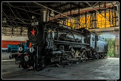 MAV_411.118_Hungarian Railway Museum_Magyar Vasuttorteneti Park_Budapest_Hungary (ferdahejl) Tags: mav 411118 hungarianrailwaymuseum magyarvasuttortenetipark budapest hungary dslr canoneos800d canondslr railwaymuseum railway