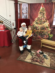 "Dani and Paul with Santa • <a style=""font-size:0.8em;"" href=""http://www.flickr.com/photos/109120354@N07/46439942651/"" target=""_blank"">View on Flickr</a>"