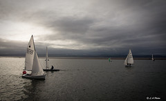 Sail on. (Lee1885) Tags: water boat sail westkirby wirral