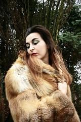 AUJOURD'HUI TRISTESSE (Louise Lemettais) Tags: girl new red hair louise normandie portrait portraiture autoportrait winter cold peau sad mélancholie fuck