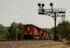 Rolling Down Raton (matthewspika) Tags: bnsf railway raton pass new mexico colorado locomotives mountains