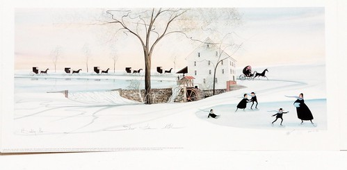 P. Buckley Moss print ($179.20)