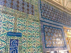 Mosaic Walls Designed at the Topkapi Palace.jpg (Ketan Pandit) Tags: culture asia travel shoots photography iphone architecture history canon europe turkey istanbul cats palace sultan bosporous tourist pandits istiklal