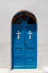 DSC_0223_chapel (andreas.katifes) Tags: door chapel blue antiparos