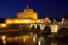 Castel Sant'Angelo (Jorgepevet) Tags: castelsantangelo rome romebluehour bluehour travelling exploringtheworld