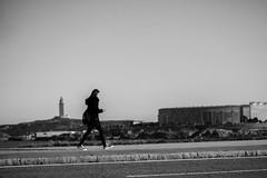 A Coruña (Photo Alberto) Tags: coruña paseo torre hercules chica