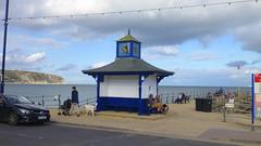 Swanage Seafront, Dorset, UK (east med wanderer) Tags: uk dorset swanage bay coast seaside sea shelter pier