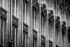 Façade de la chambre de commerce, Lille, France (pas le matin) Tags: facade lille france ville city travel world bw nb blackandwhite noiretblanc architecture chambredecommerce monochrome buildings window fenêtre bâtiment voyage europe europa 7d eos7d canoneos7d canon7d canon