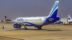 Indigo Airbus A320 VT-IDL Bangalore (BLR/VOBL) (Aiel) Tags: indigo airbus a320 vtidl bangalore bengaluru canon60d canon24105f4lis