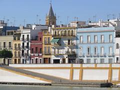 Triana, Seville, Spain (geoff-inOz) Tags: guadalquivir river triana seville spain heritage buildings historic architecture andalusia