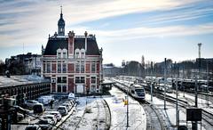 Snowy Valenciennes (robmcrorie) Tags: valenciennes france nord north gare station tav bb 22200 22293 22293rc snow nikon d850 train rail railway railfan loco