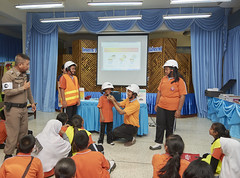120 students in Bangkok's Min Buri district receive road safety training (AIP Foundation) Tags: ~who ~client aip savethechildren ~where thailand bangkok ~photography ~setting interior