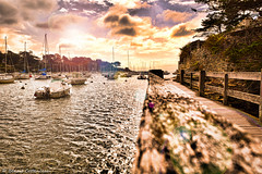 Sea level (LUMEN SCRIPT) Tags: harbor harbour port oceanfranceseascape ocean leadinglines boat dream