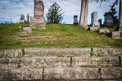 Final Steps (Phil Roeder) Tags: iowa grantwood leica leicax2 grave cemetery limestone