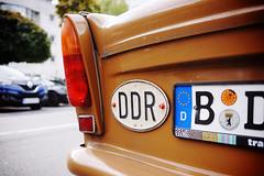 """""""DDR"""" (Eric Flexyourhead) Tags: trabiworld zimmerstrase berlin germany deutschland federalrepublicofgermany bundesrepublikdeutschland city urban detail fragment car carspotting german trabant trabi brown old vintage retro deutschedemokratischerepublik ddr shallowdepthoffield sonyalphaa7 zeisssonnartfe35mmf28za zeiss 35mmf28"""
