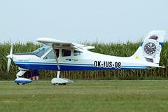 OK-IUS 08   Tecnam P.92-S Echo [775] Tannheim~D 24/08/2013 (raybarber2) Tags: 775 airportdata cn775 czechcivil edmt flickr okius08 planebase raybarber single