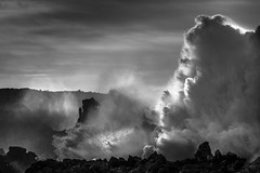 Unleash the power (skybluesky43) Tags: art artistic black preto rochas sea mar pedras rocks ocean portugal algarve coast nikon d7100 55200 monochrome