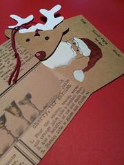 Handmade Christmas Set (Liz Froud) Tags: rudechristmascard handmadeenvelope handmadechristmasdecoration rudolphtherednosedreindeer reindeer art handmade london facts crow angel angelcard handdrawn handpainted rednose xmas festive stnicholas santa rudolf ffs badsanta rustic rusticstationary stationary brownpaper browncard forsale artforsale etsy redthread embroiderythread lizfroud thecraftynihilist antler deer glasses glass wineglass text lizjames lizjamesfroud froud markfroud bath england uk artsandcrafts crafts papercraft