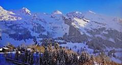 SWITZERLAND - Winter landscape (Jacques Rollet (Little Available)) Tags: landscape paysage hiver winter snow neige mountain montagne switzerland
