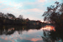 Potamac river at Hancock MD (die Augen) Tags: maryland potomac river canon sl2 sunset water
