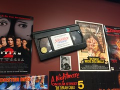 """Horror Movie Displays at Slashback Video • <a style=""""font-size:0.8em;"""" href=""""http://www.flickr.com/photos/28558260@N04/31352131207/"""" target=""""_blank"""">View on Flickr</a>"""