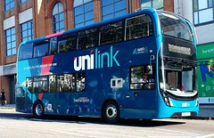 Southampton Unilink 1206 is on Portland Terrace while on route U1C to City Centre and NOCS. - HF18 FEG - 10th October 2018 (Aaron Rhys Knight) Tags: southampton unilink 1206 hf18 feg 2018 enviro400mmc