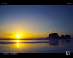 Shine (tomraven) Tags: sunset sky clouds sun tomraven isalnd westcoast newzealand aravenimage reflections glow shine wind q42018 sony a7ii