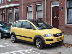 2004 Audi A2 1.4 (brizeehenri) Tags: audi a2 2004 49nptv rotterdam