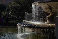 Water fun (herman hengelo) Tags: madrid spain fountain backlight palacioreal