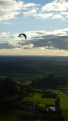 Autumn Soaring at Frocester (richiegibbs15) Tags: dmctz80 paragliding