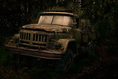 The Zil (PentlandPirate of the North) Tags: zil military truck tanker russian northwales rust llanystumdwy soviet army zil131