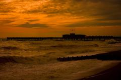Hastings Pier (aquanout) Tags: seascape sea waves sussex