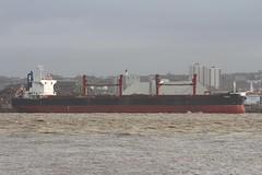 Yoga (Das Boot 160) Tags: yoga bulker ships sea ship river rivermersey port docks docking dock boat boats maritime mersey merseyshipping