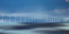 energie 8598 (Yvonne Blokland) Tags: windmolens windmills sea coas urk netherands holland energie sky blue