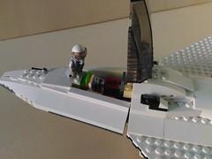 Lego Jet Fighter AFJ-S4 Arkangel (5) (Parm Brick) Tags: lego legojetfighter stealthjet military aviation militaryaviation moc mod afol legobrick vehicle minifigure pilot jet fighter stealth modern warfare battlefield air combat aircraft