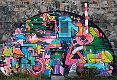 Graffiti (franziska.bro) Tags: graffiti bunt kunst strasenkunst streetart spray