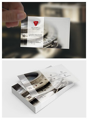 Corporate Business Cards (ksenia.design) Tags: design qeaql creator mockup product graphic web ui mountainview ca usa