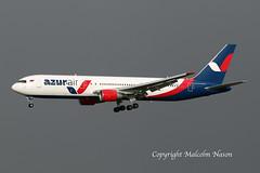 B767-33A(ER) VQ-BUP AZUR AIR (shanairpic) Tags: jetairliner passengerjet b767 boeing767 shannon azurair eirtech vqbup