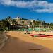 Puu Poa Beach Princeville Kauai, Hawaii