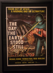 The Day The Earth Stood Still (Matts915) Tags: peabodyessexmuseum horrormovies classichorror movieposters horror movies thedaytheearthstoodstill kirkhammett metallica salem massachusetts museum