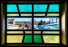 Through the Looking-Glass (Blaydon52C) Tags: metro monkseaton west tyne wear whitley bay tynemouth twpte calvert lner ner coast tyneside suburban artdeco streamline moderne style