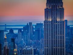 Empire State Sunset (Oliver Weihrauch) Tags: newyorkliebe empirestate sunset zugrocker newyork wanderlust picoftheday discoverusa fernweh zugrocken adventureculture empirestatebuilding skyscrapers skyscraper manhattan newyorkcity travelforlife usa