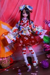 IMG_3829 (kwokt59) Tags: azone azonejp doll 16 pureneemo sahras mode yuzuha lolita dress sewing dollclothes