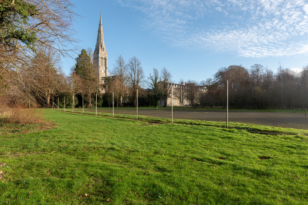 TODAY I VISITED ST. PATRICK'S COLLEGE IN MAYNOOTH [THE NATIONAL SEMINARY OF IRELAND]-147801