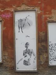 893 (en-ri) Tags: cheap festival bianco nero grigio manifesto bologna wall muro graffiti writing donna woman body corpo