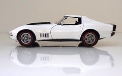 1969 Chevrolet Corvette Stingray ZL-1 Sport Coupe (JCarnutz) Tags: 124scale diecast danburymint 1969 chevrolet corvette zl1